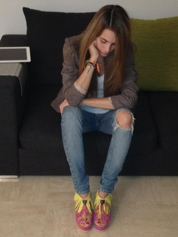 Cecilia Bonelli Feet