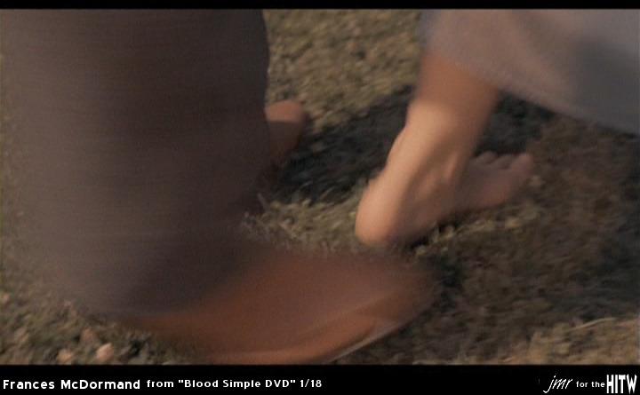 Frances McDormand Feet