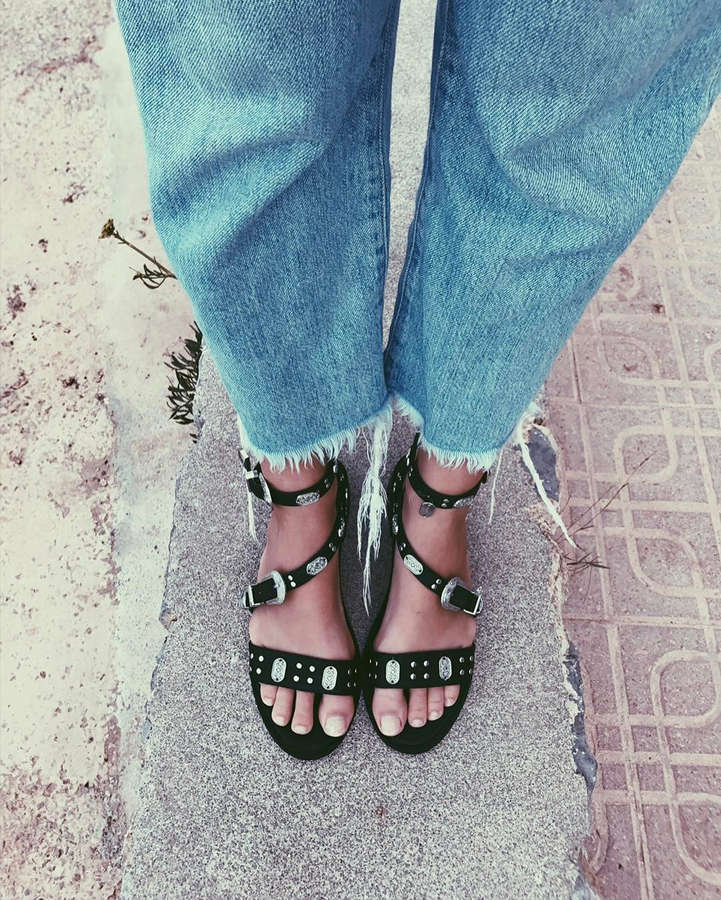 Luisa Hartema Feet
