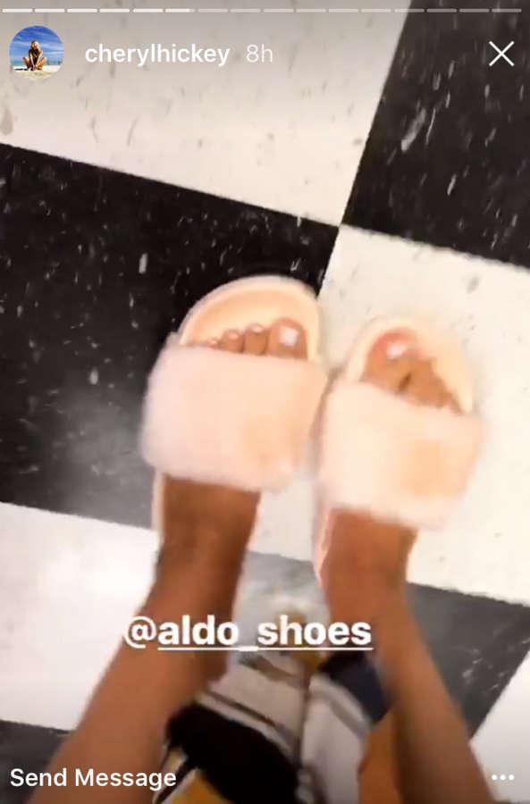 Cheryl Hickey Feet