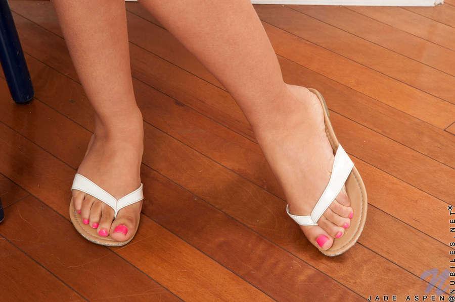 Jade Aspen Feet