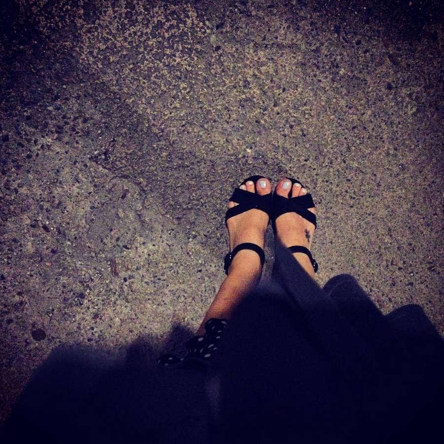 Aleksandra Hamkalo Feet