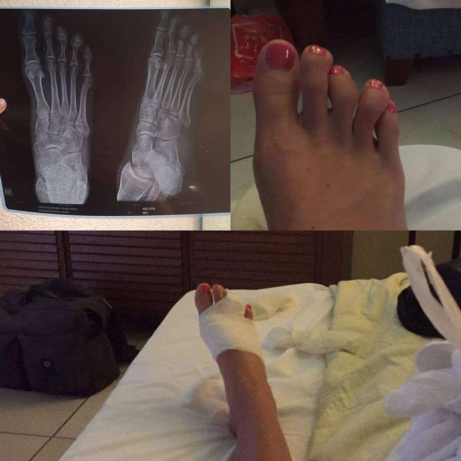 Mie Nielsen Feet