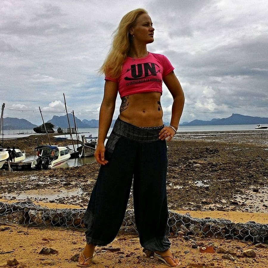 Valentina Shevchenko Feet