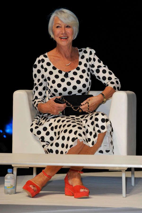 Helen Mirren Feet
