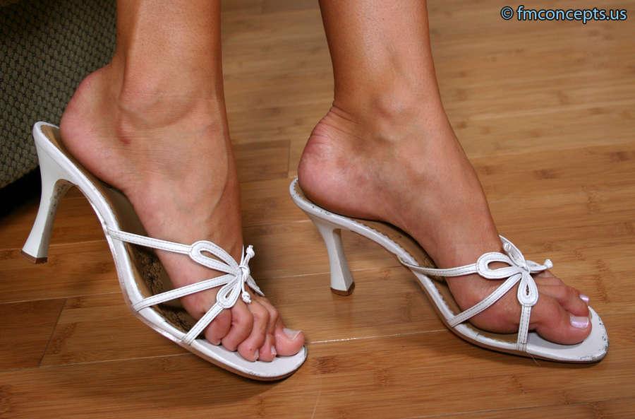 Monica Sweetheart Feet