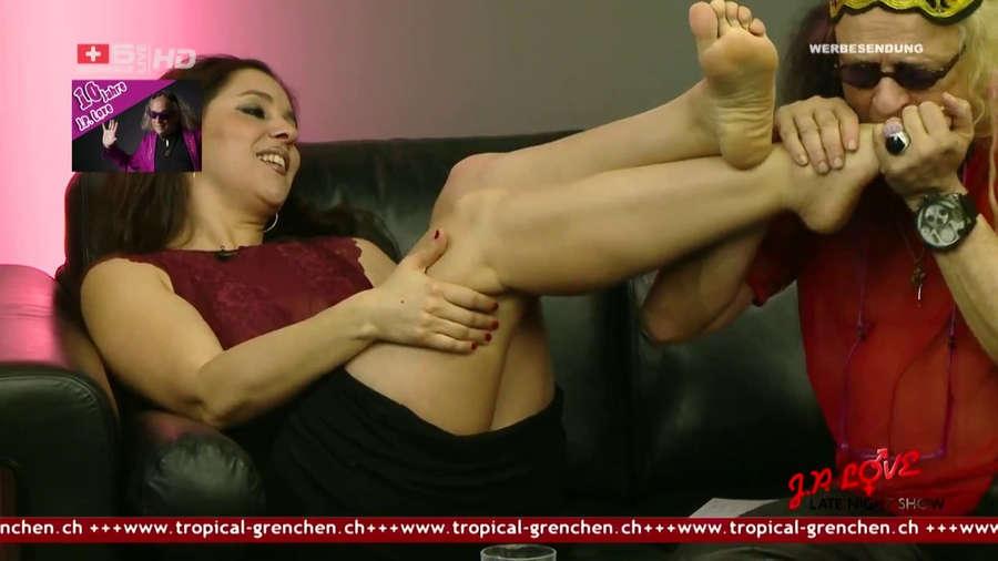 Salma De Nora Feet