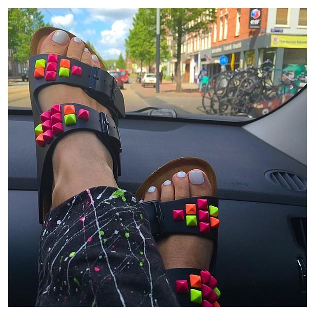 Danielle Van Aalderen Feet
