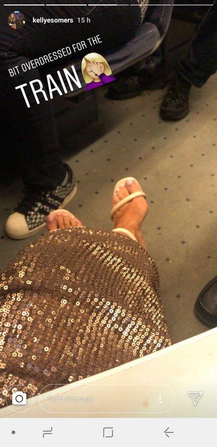 Kelly Somers Feet
