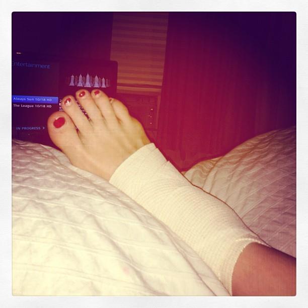 Ashley Hearon Smith Feet