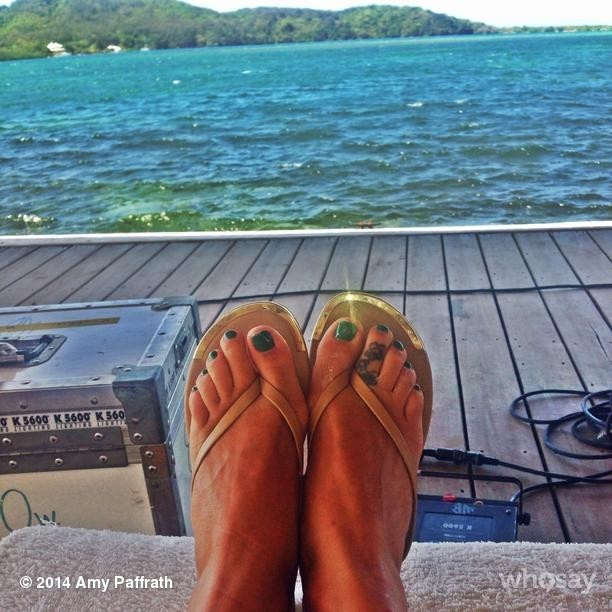 Amy Paffrath Feet