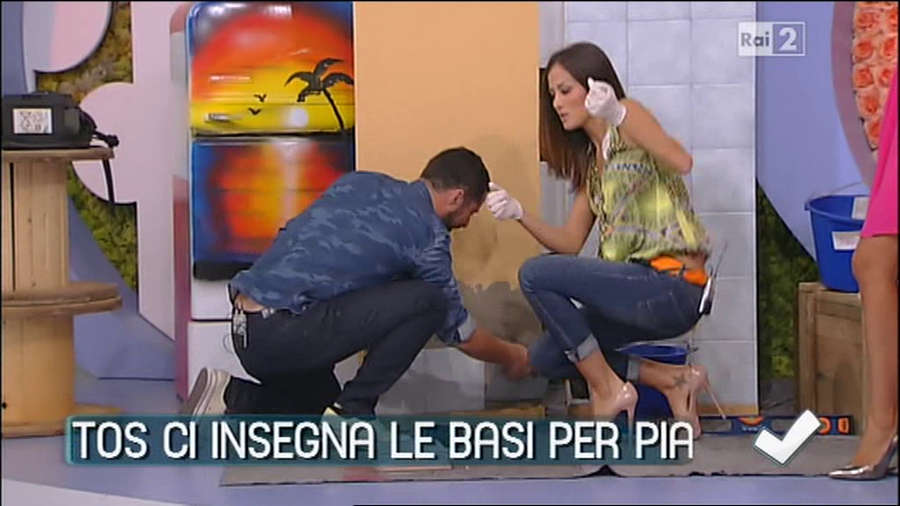 Giorgia Palmas Feet