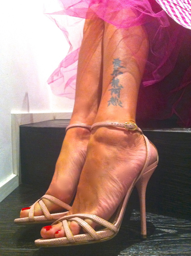 Elenoire Casalegno Feet