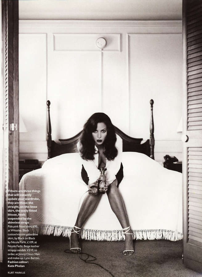 Christy Turlington Feet