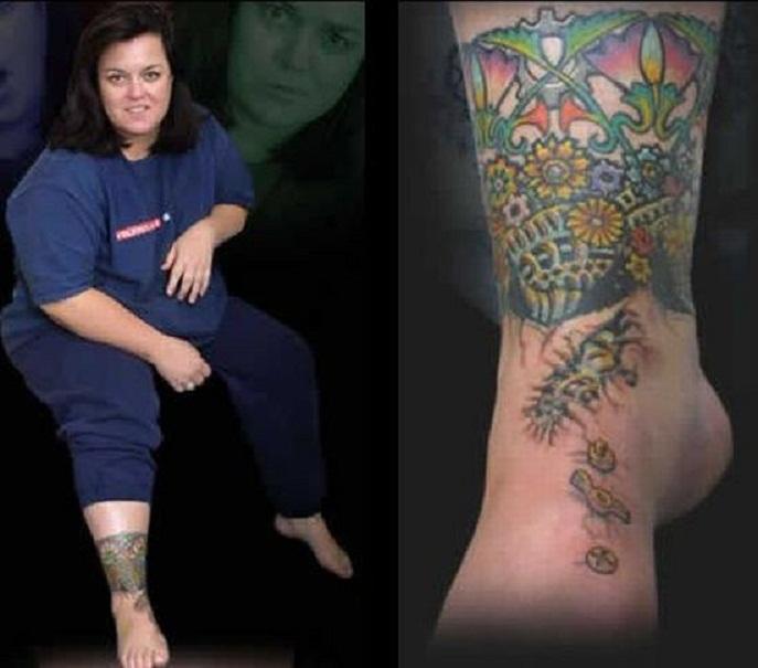 Rosie ODonnell Feet