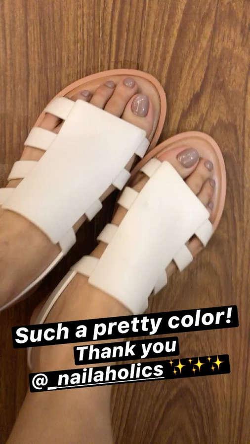 Bea Benedicto Feet