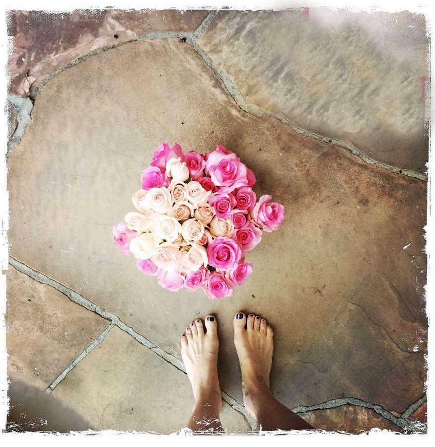 Michelle Stafford Feet