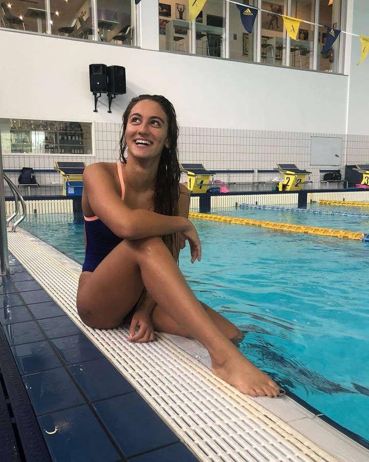 Simona Quadarella Feet