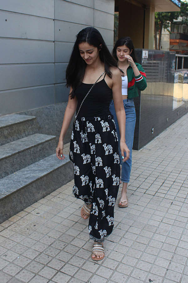 Ananya Pandey Feet