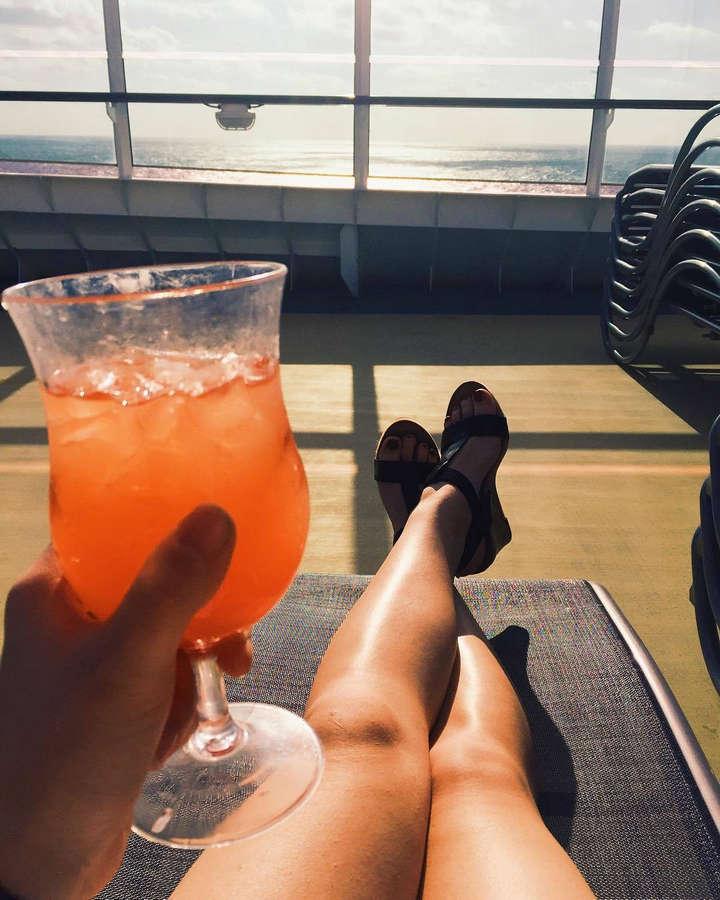 Adrienne Cowan Feet