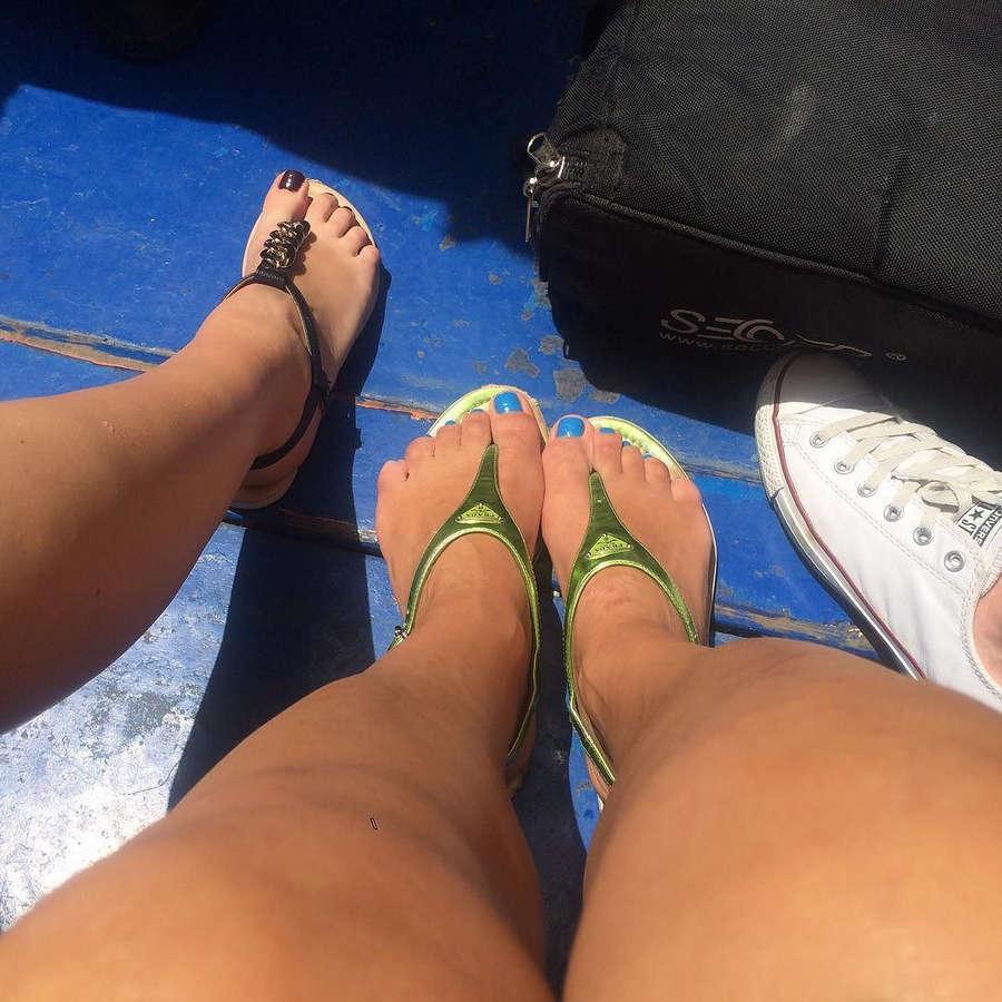 Anna Popek Feet