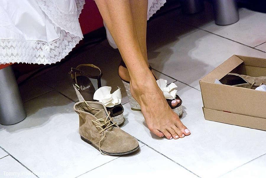 Irena Ponaroshku Feet