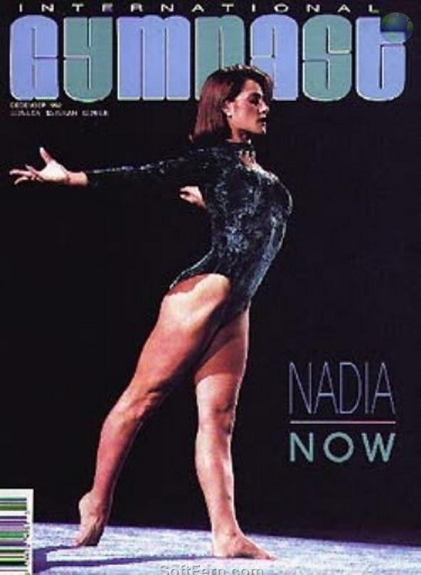 Nadia Comaneci Feet