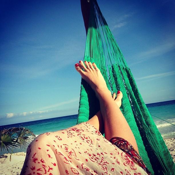 Maryna Linchuk Feet
