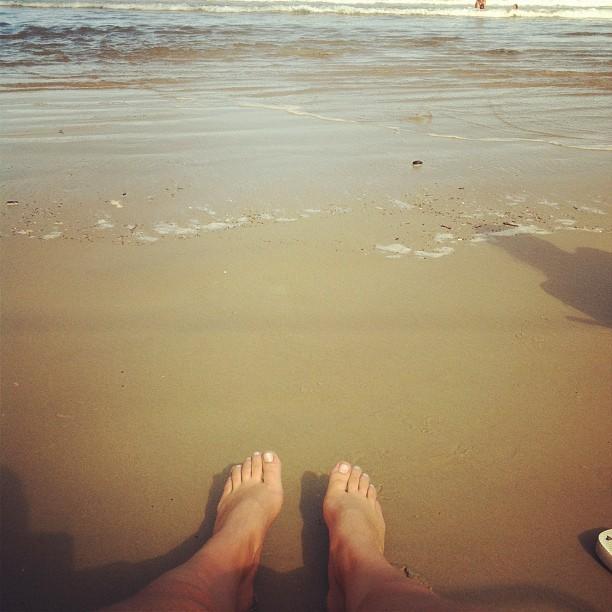 Bruna Unzueta Feet