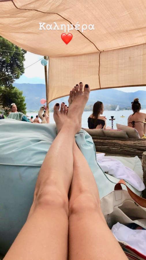 Doretta Papadimitriou Feet