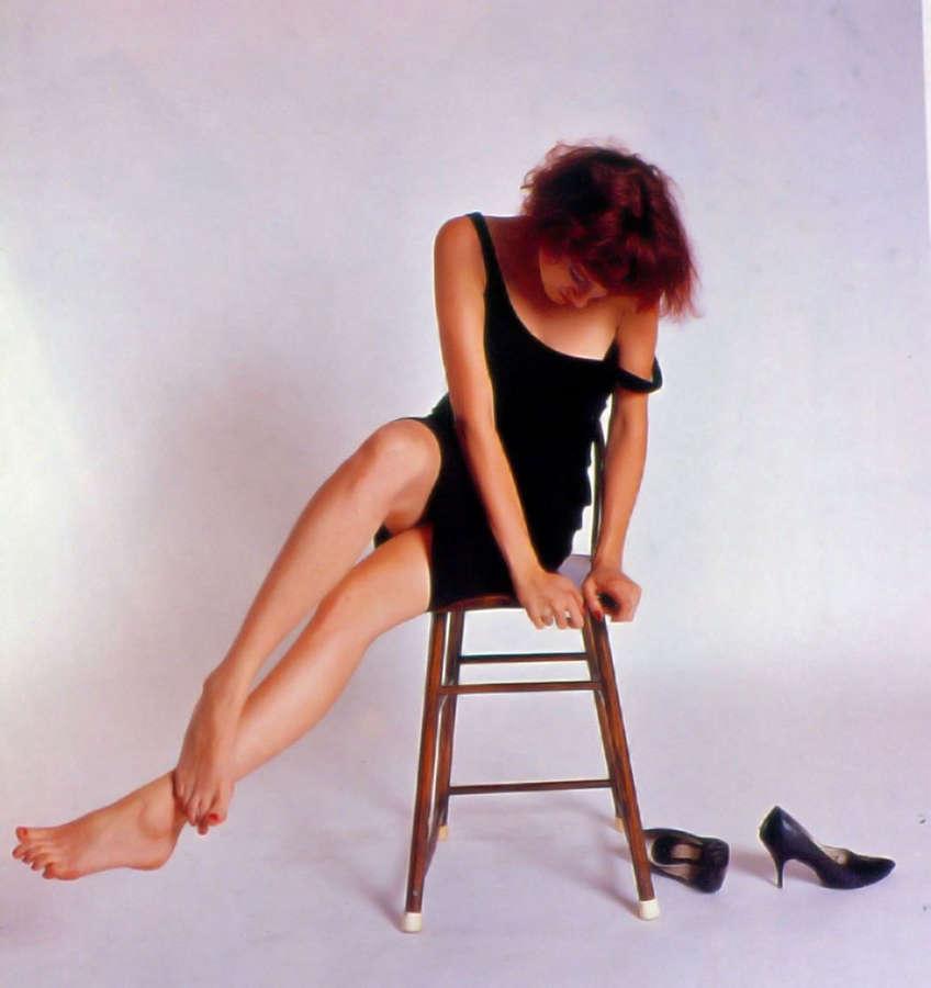 Ann Magnuson Feet