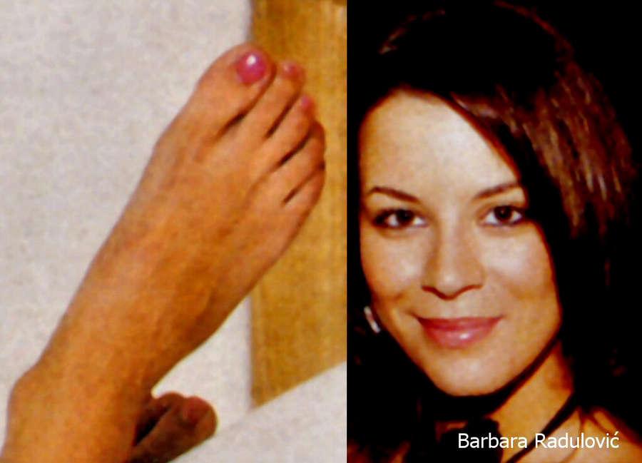 Barbara Radulovic Feet