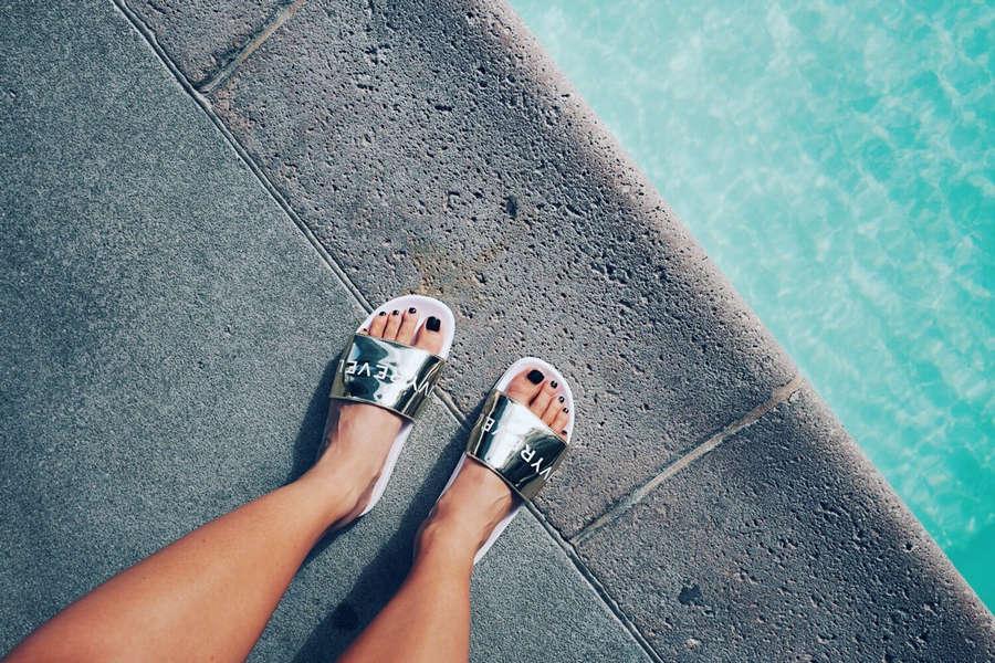 Kenza Zouiten Feet