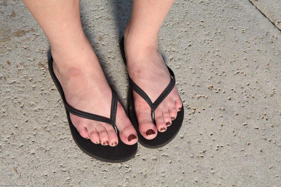 Allesandra Snow Feet