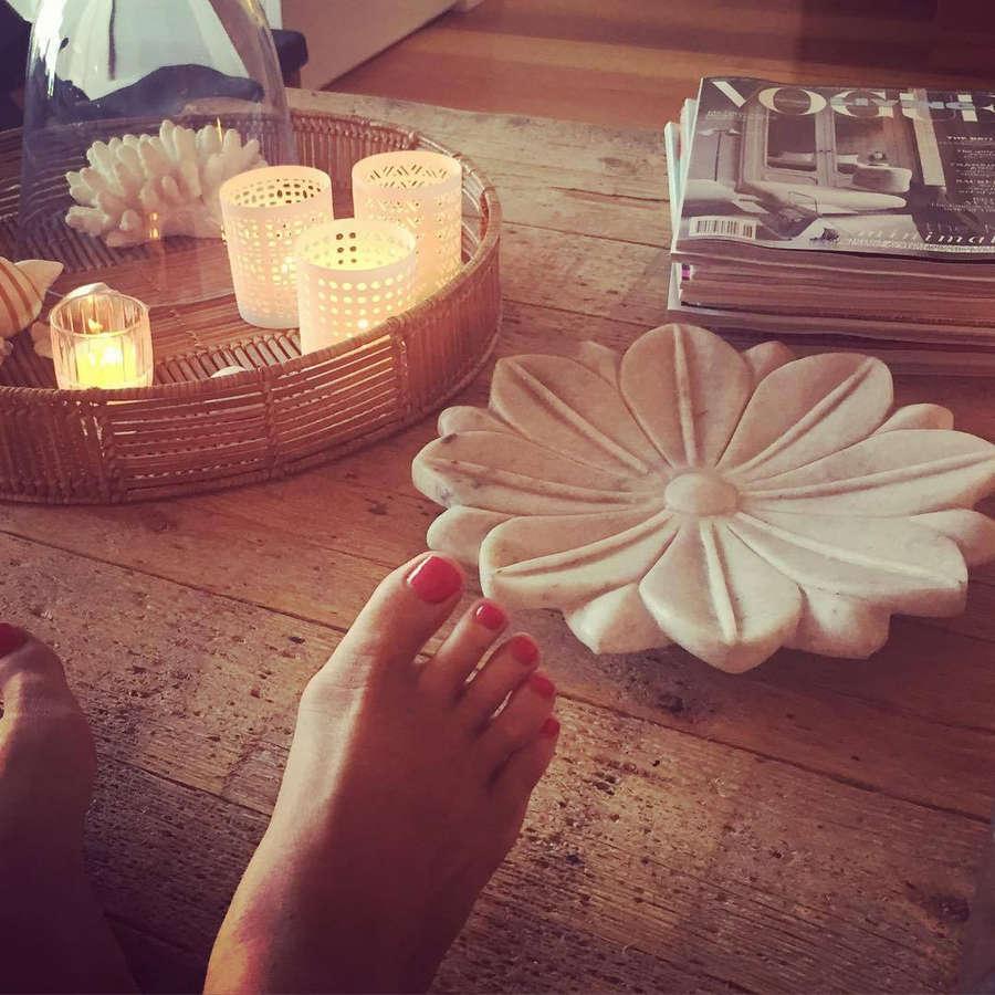 Samantha Armytage Feet