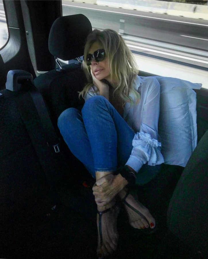 Bibiana Fernandez Feet