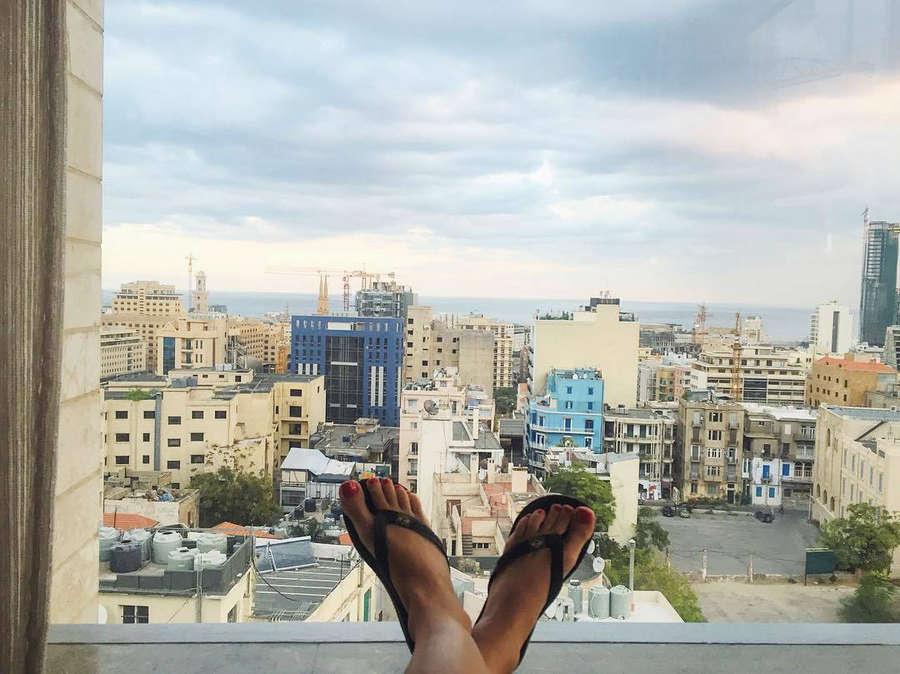 Dalia Nsouli Feet