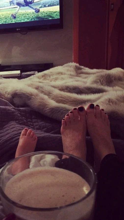 Wanda Nara Feet