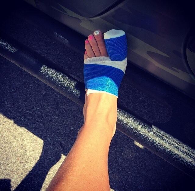 Michelle McCool Feet