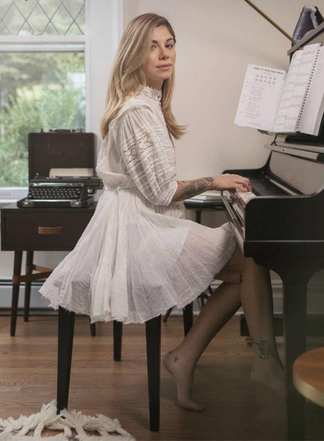 Christina Perri Feet
