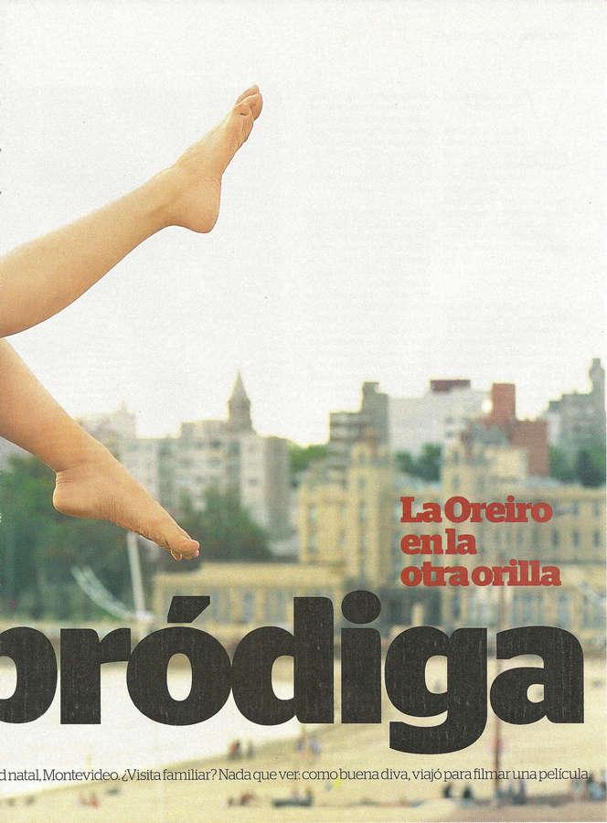 Natalia Oreiro Feet