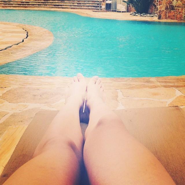 Africa Zavala Feet