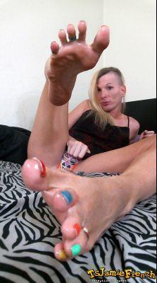 Jamie French Feet