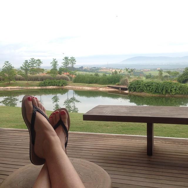 Luana Piovani Feet