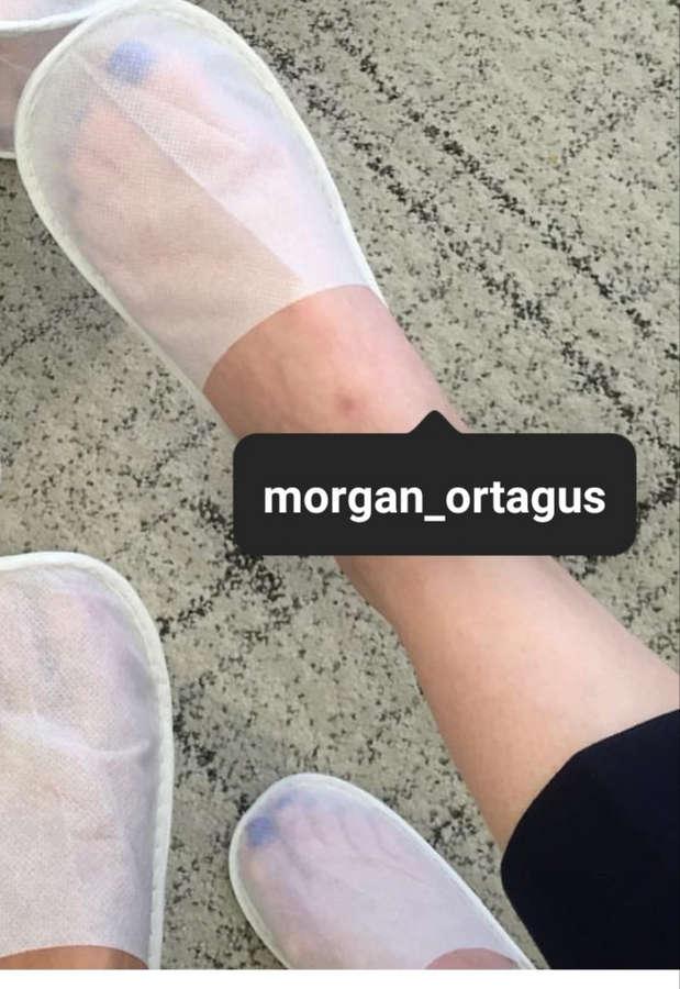 Morgan Ortagus Feet