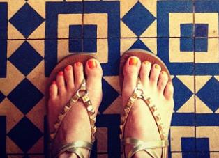 Jennifer Ceci Feet