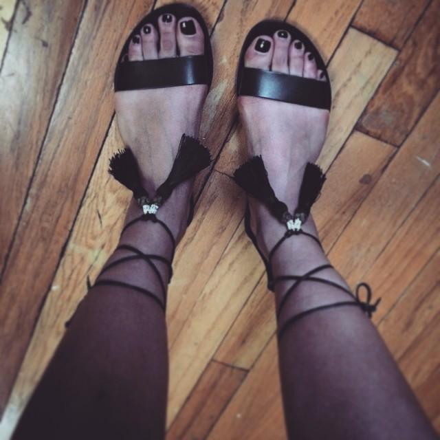 Greta Lee Feet