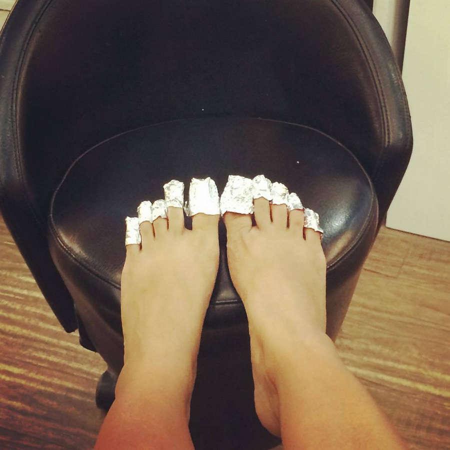 Nimrat Kaur Feet