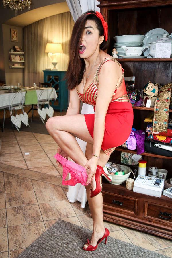 Anife Vyskocilova Feet