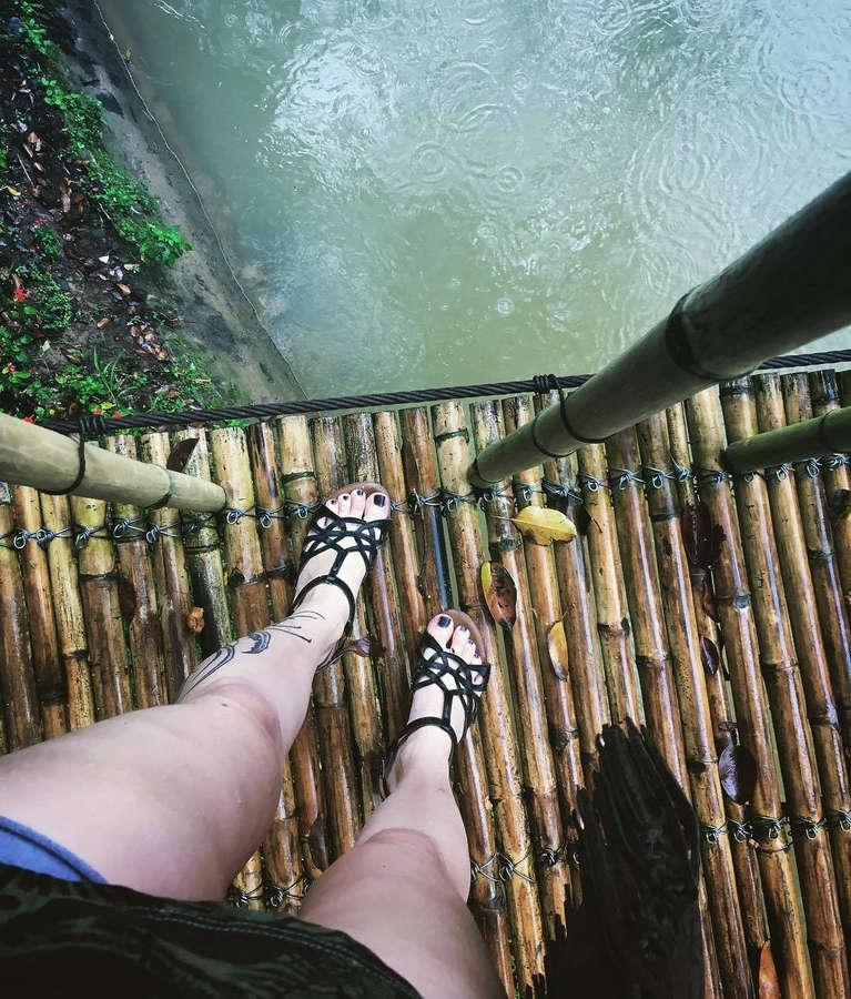 Alina Gingertail Feet